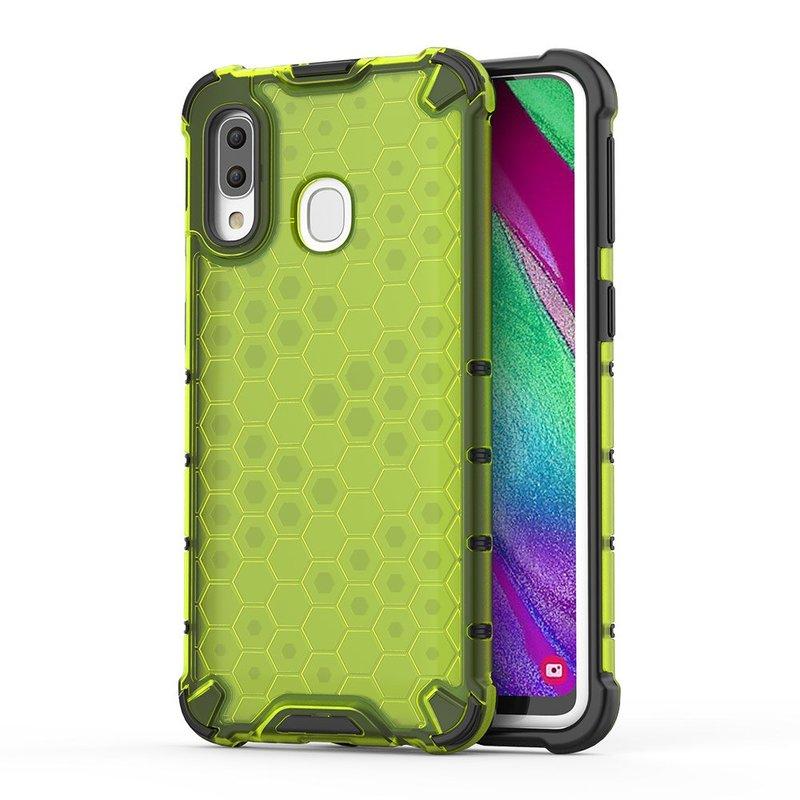 Husa Samsung Galaxy A40 Honeycomb Armor - Verde