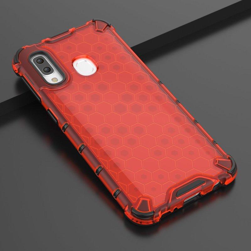 Husa Samsung Galaxy A40 Honeycomb Armor - Rosu