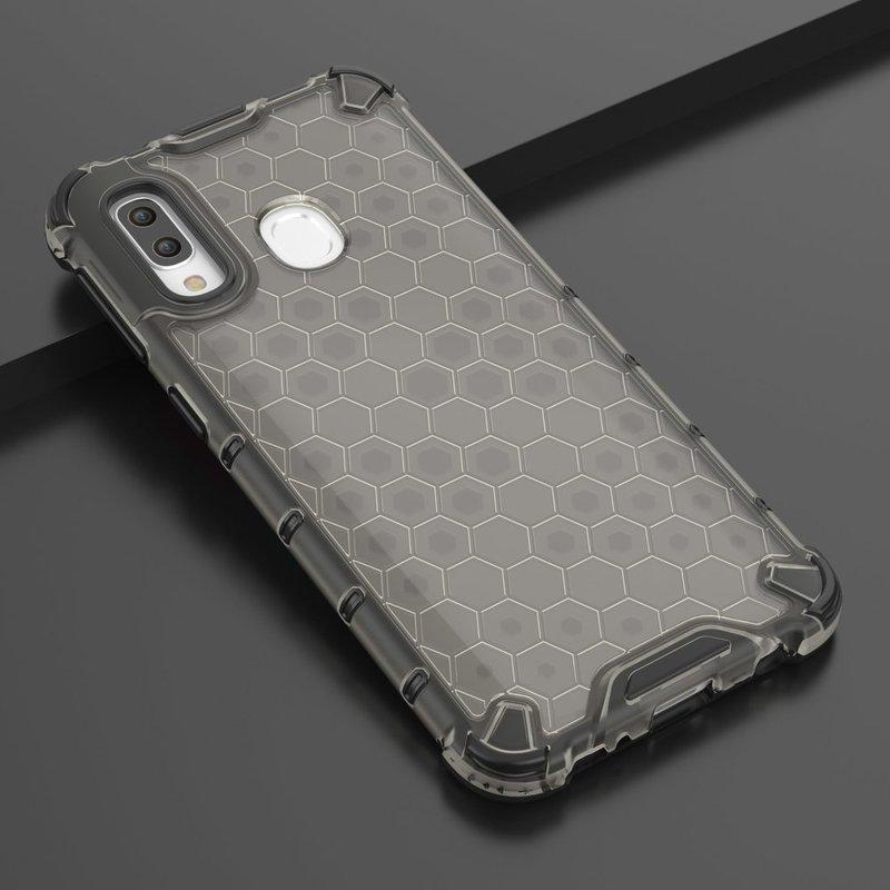Husa Samsung Galaxy A40 Honeycomb Armor - Negru