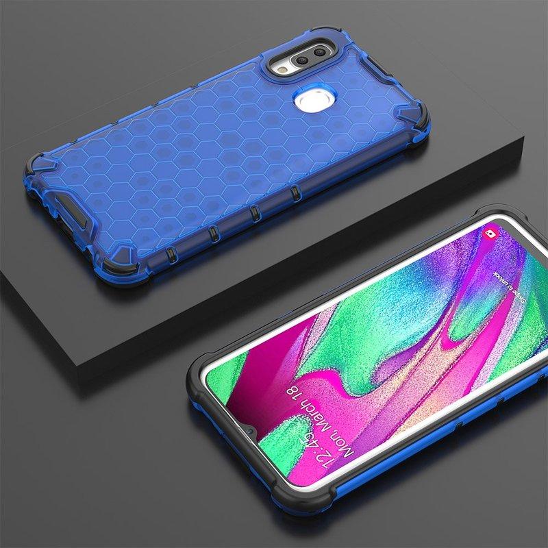 Husa Samsung Galaxy A40 Honeycomb Armor - Albastru