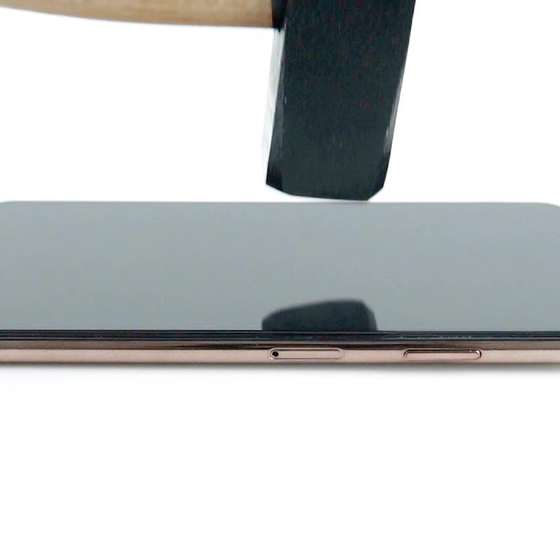Folie iPhone 8 3mk NeoGlass Unbreakable Cu Rama - Negru