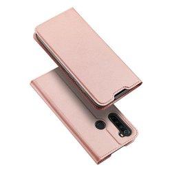 Husa Xiaomi Redmi Note 8 Dux Ducis Flip Stand Book - Roz