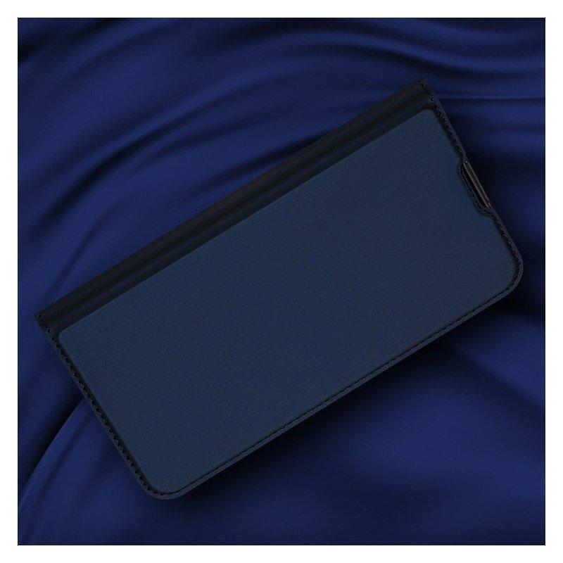 Husa Xiaomi Redmi Note 8 Dux Ducis Flip Stand Book - Albastru