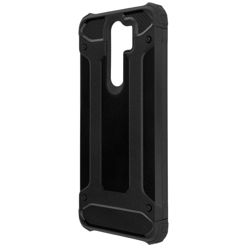 Husa Xiaomi Redmi Note 8 pro Mobster Hybrid Armor - Negru