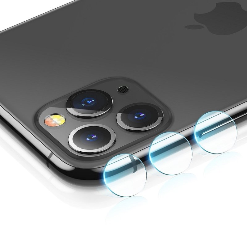[Pachet 2x] Folie Sticla Camera iPhone 11 Pro Max ESR Lens Protector Tempered - Clear