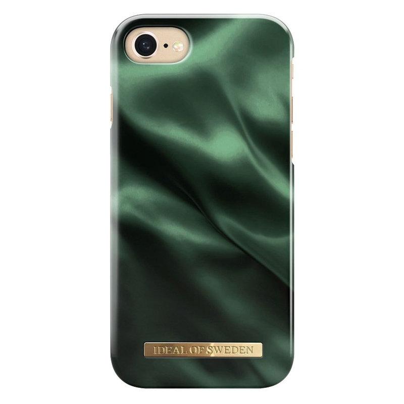 Husa iPhone 7 iDeal of Sweden Fashion -  Emerald Satin