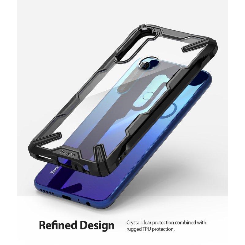 Husa Xiaomi Redmi Note 8 Ringke Fusion X - Black