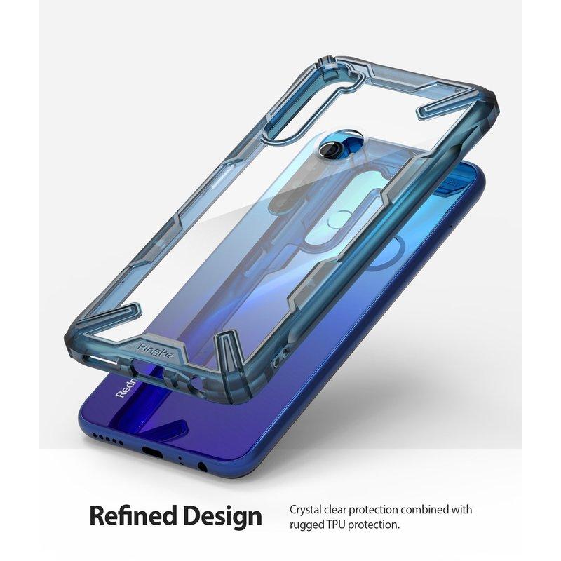 Husa Xiaomi Redmi Note 8 Ringke Fusion X - Space Blue