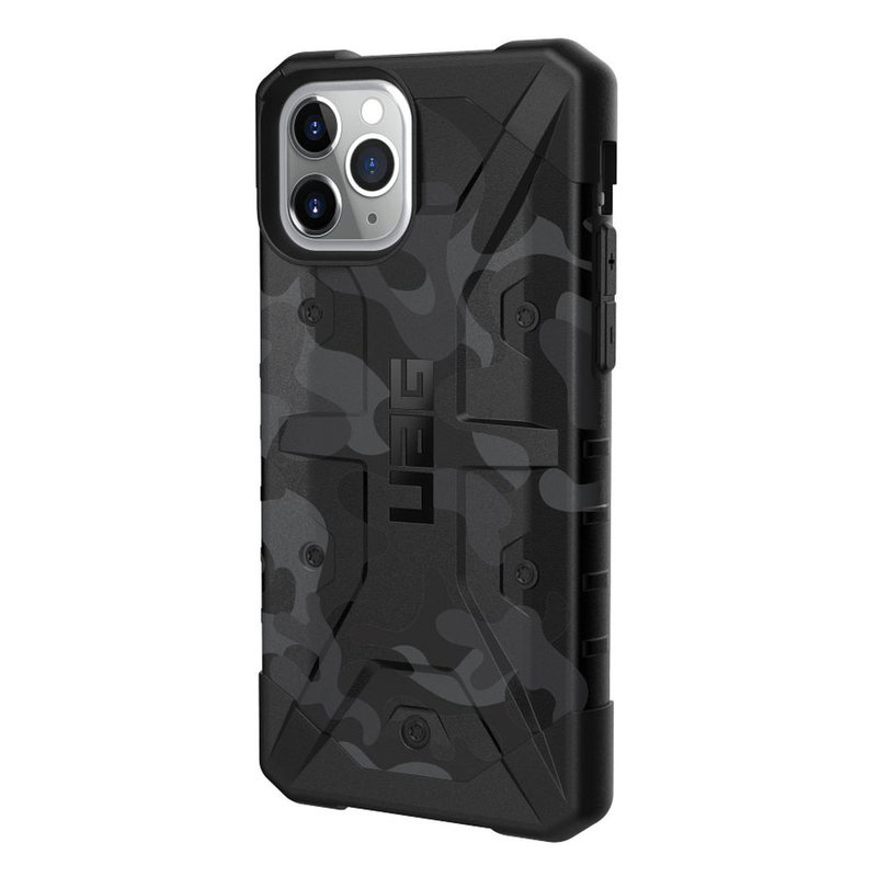 Husa iPhone 11 Pro Max UAG Pathfinder Series - Midnight Camo