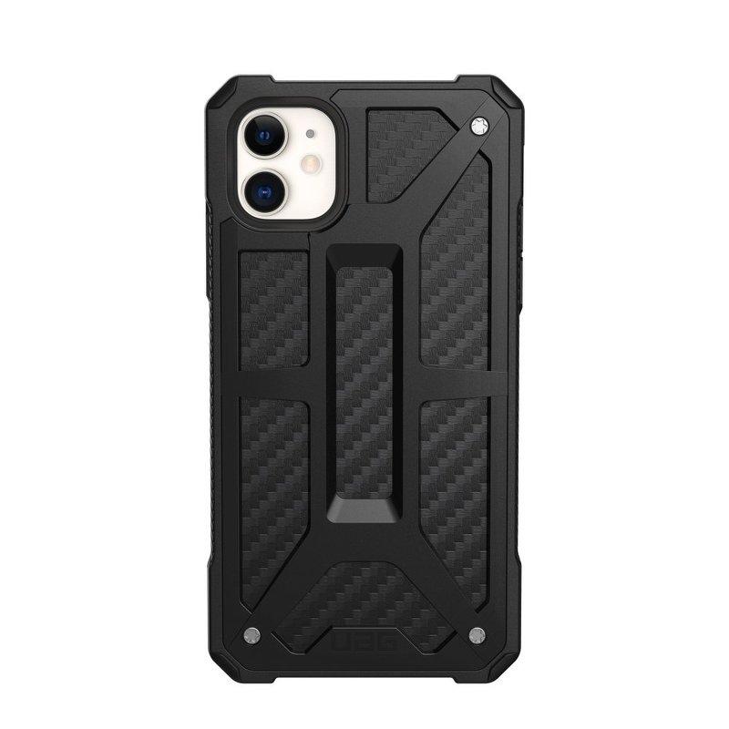 Husa iPhone 11 UAG Monarch Series - Carbon Fiber