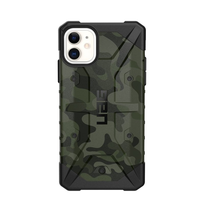 Husa iPhone 11 UAG Pathfinder Series - Forest Camo