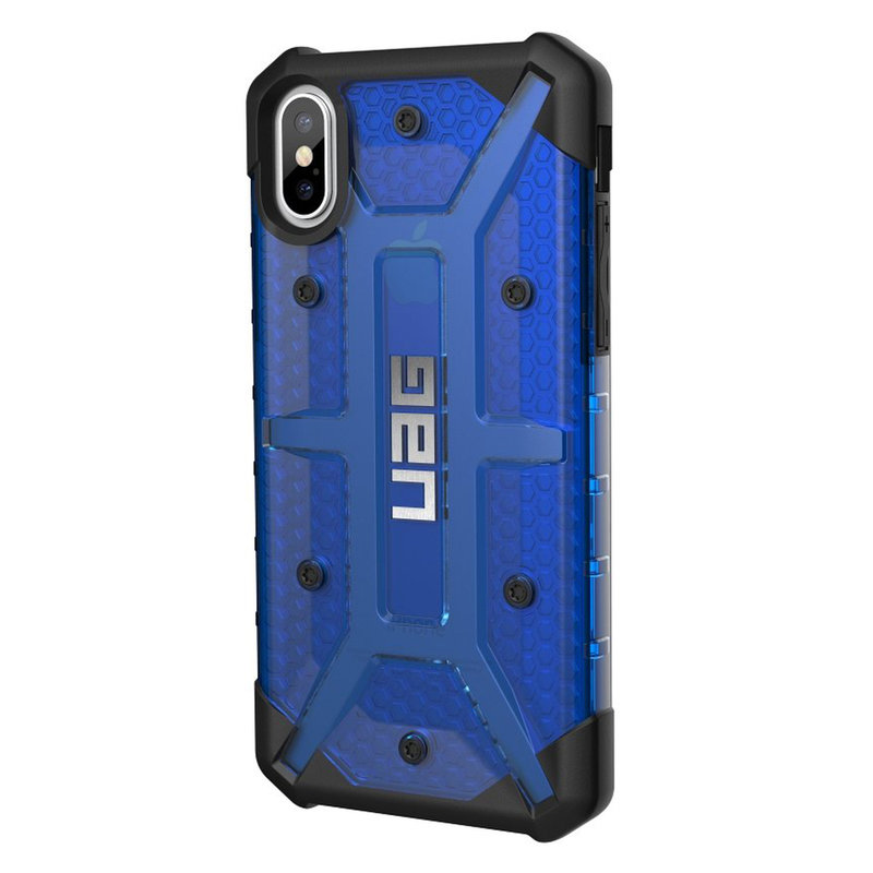 Husa iPhone XS UAG Plasma Series - Cobalt