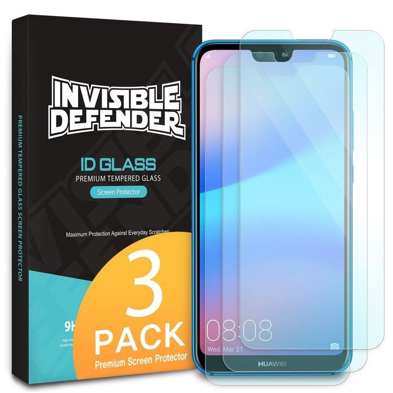 Sticla Huawei P20 Lite Ringke Invizible Defender (Three Pack) - Clear