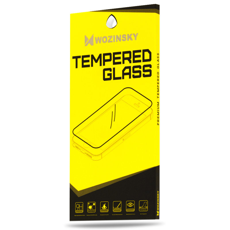 Folie iPhone 8 Plus Sticla Securizata Wozinsky 9H - Clear