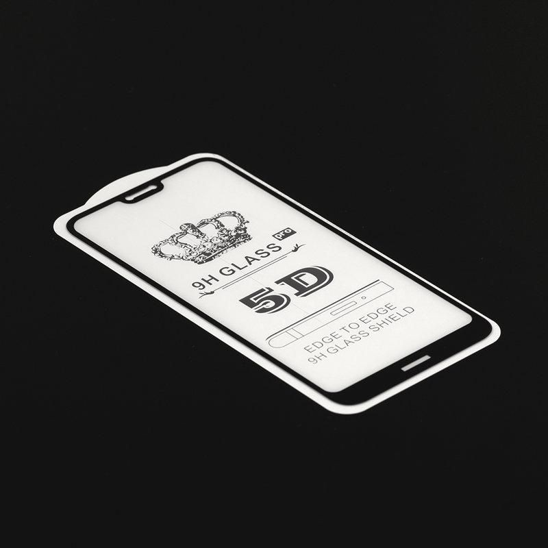 Folie Protectie Wozinsky Nokia 7.1 FullGlue FullCover - Black