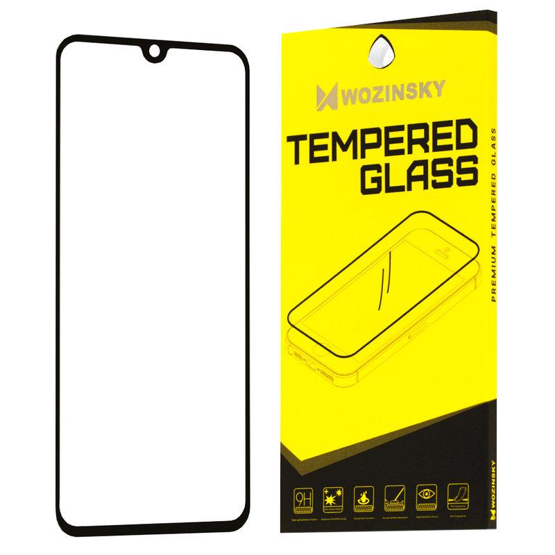 Folie Protectie Wozinsky Samsung Galaxy A20e FullGlue FullCover - Black