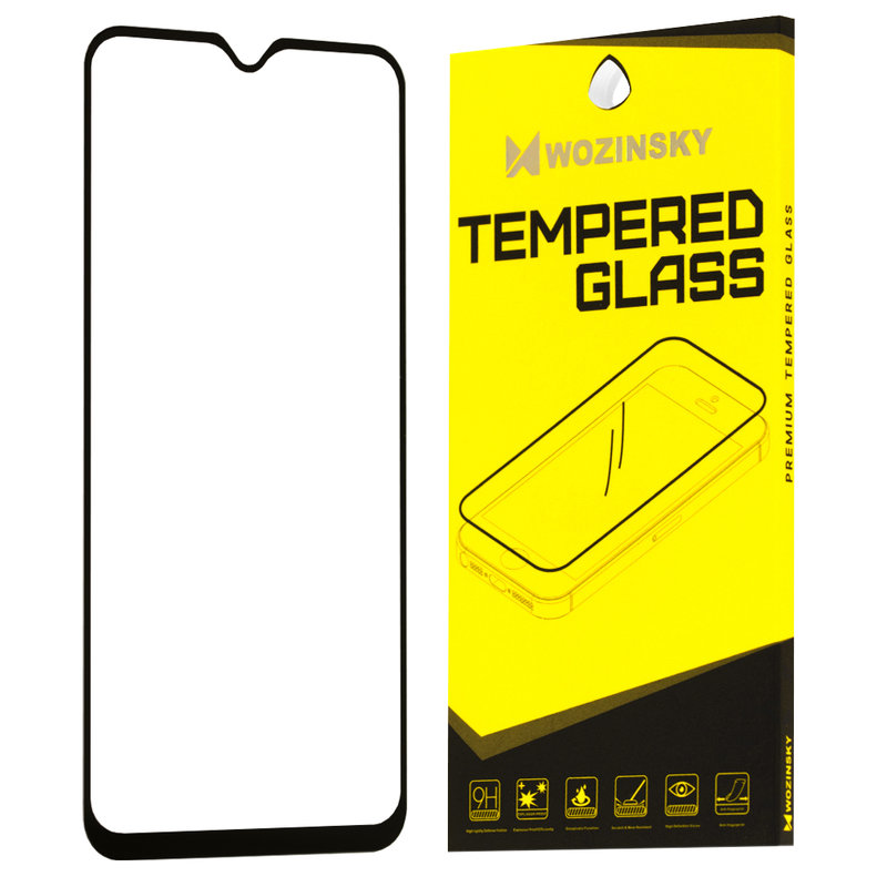Folie Protectie Wozinsky OnePlus 7 FullGlue FullCover - Black
