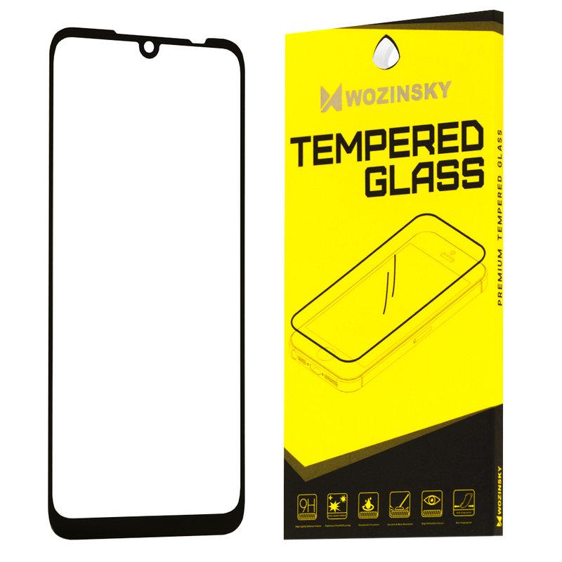 Folie Protectie Wozinsky Xiaomi Redmi Note 7 FullGlue FullCover - Black