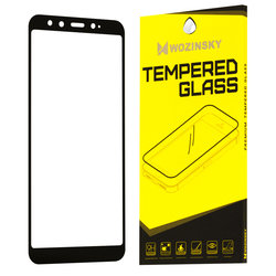 Folie Protectie Wozinsky Xiaomi Mi A2, Mi 6X FullGlue FullCover - Black