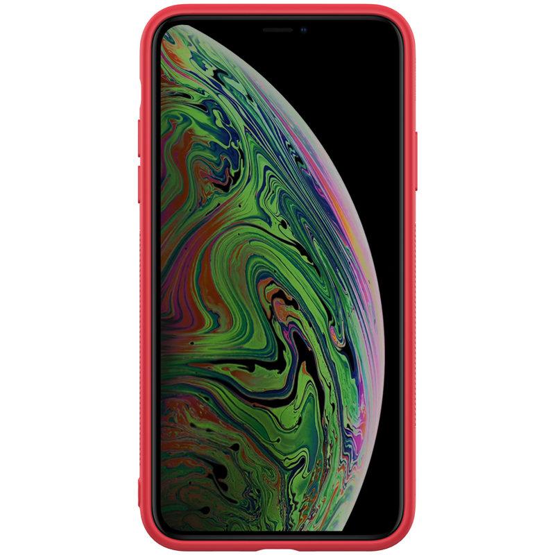 Husa iPhone 11 Nillkin Textured Case - Red