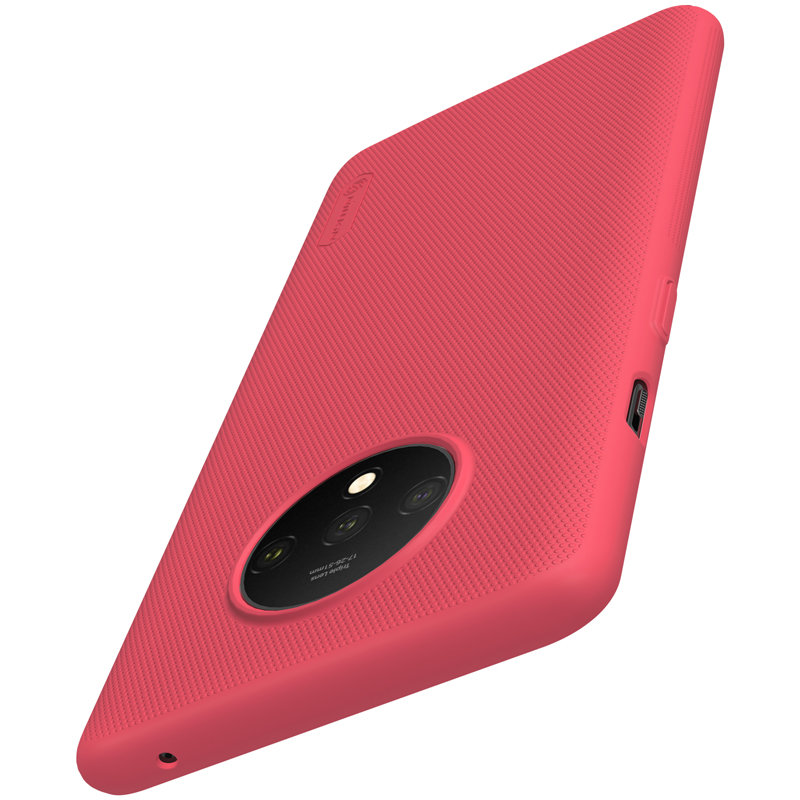 Husa OnePlus 7T Nillkin Super Frosted Shield - Red