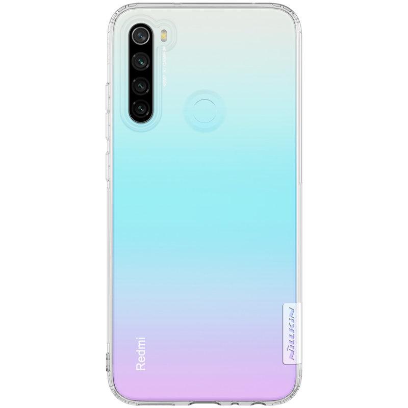 Husa Xiaomi Redmi Note 8 Nillkin Nature UltraSlim - Transparent