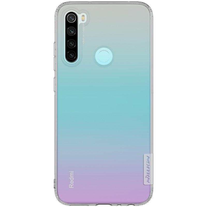 Husa Xiaomi Redmi Note 8 Nillkin Nature UltraSlim - Fumuriu
