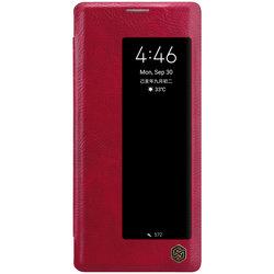 Husa Huawei Mate 30 Pro Nillkin QIN Leather - Rosu