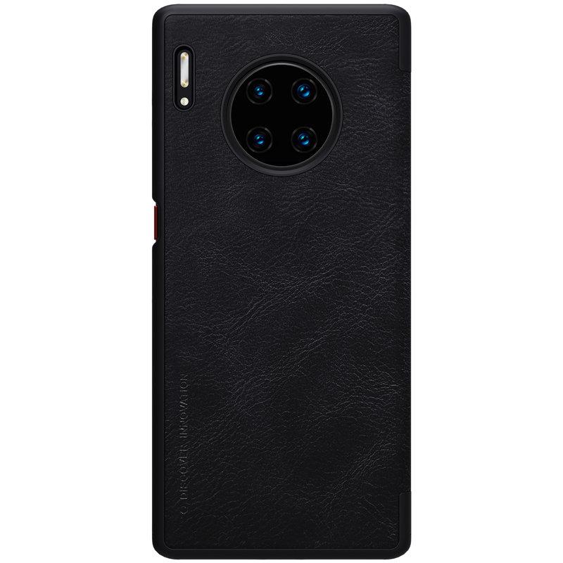 Husa Huawei Mate 30 Pro Nillkin QIN Leather - Negru