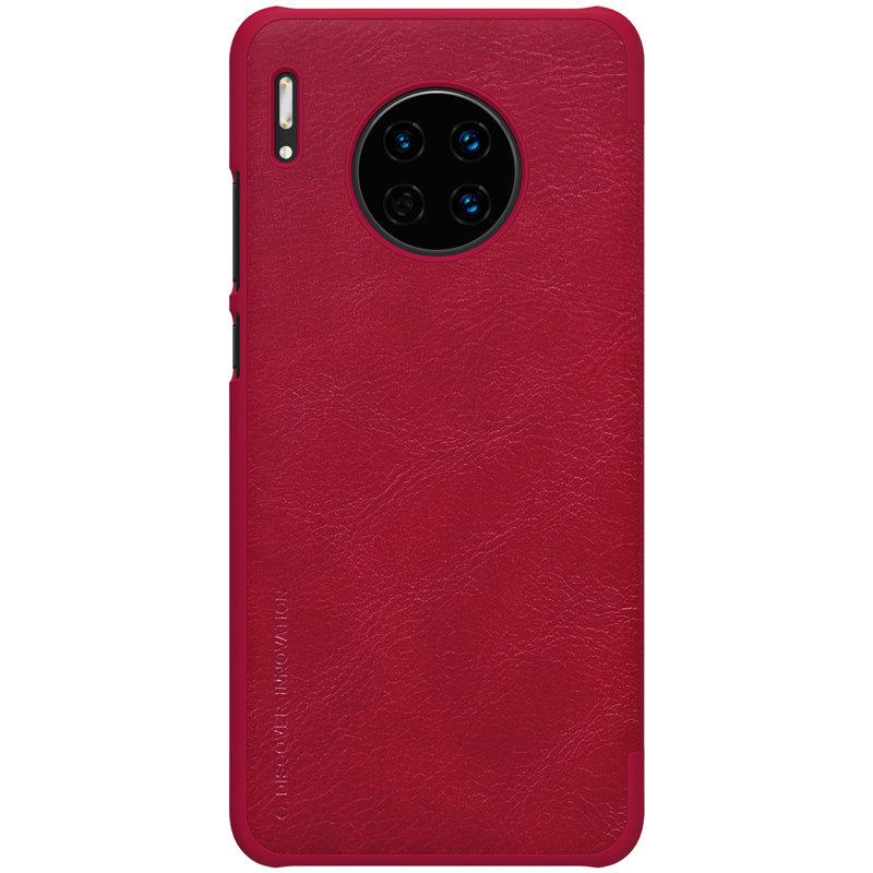 Husa Huawei Mate 30 Nillkin QIN Leather - Rosu