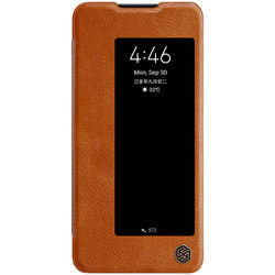 Husa Huawei Mate 30 Nillkin QIN Leather - Maro