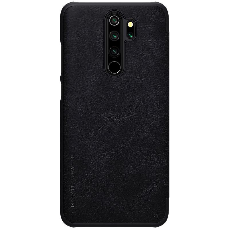 Husa Xiaomi Redmi Note 8 Pro Nillkin QIN Leather - Negru