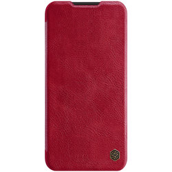 Husa Xiaomi Redmi Note 8 Nillkin QIN Leather - Rosu