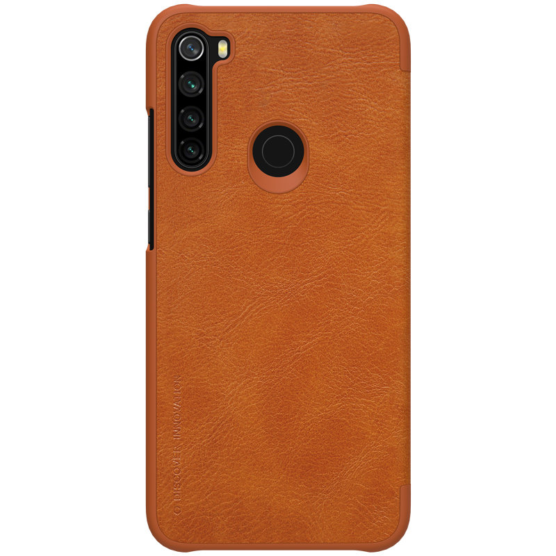 Husa Xiaomi Redmi Note 8 Nillkin QIN Leather - Maro