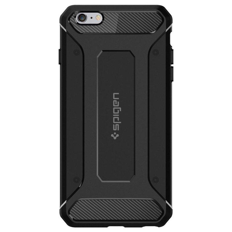 Bumper Spigen iPhone 6, 6S Rugged Capsule - Black