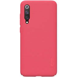 Husa Xiaomi Mi 9 Pro 5G Nillkin Super Frosted Shield - Red