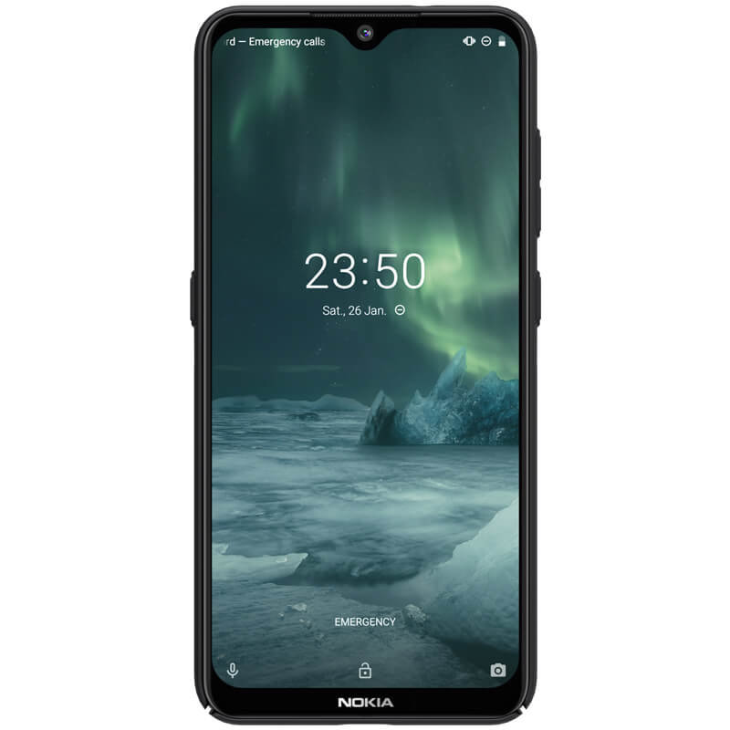 Husa Nokia 7.2 Nillkin Super Frosted Shield - Black