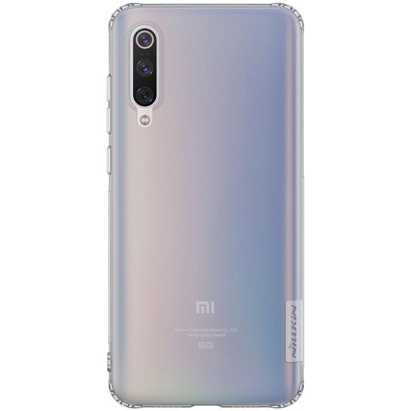 Husa Xiaomi Mi 9 Pro 5G Nillkin Nature UltraSlim - Fumuriu