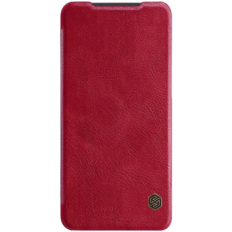 Husa Xiaomi Mi 9 Pro 5G Nillkin QIN Leather - Rosu