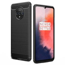 Husa OnePlus 7T TPU Carbon - Negru