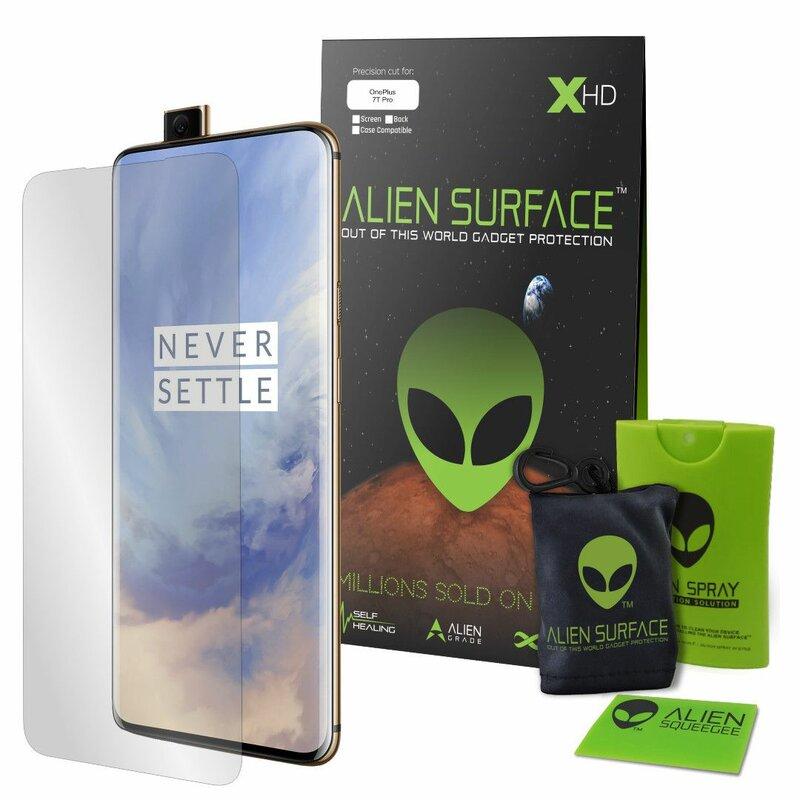 Folie Regenerabila OnePlus 7T Pro Alien Surface XHD, Case Friendly - Clear