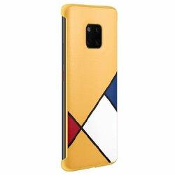 Husa Originala Huawei Mate 20 Pro TPU Abstract Art - 51992767 - Yellow
