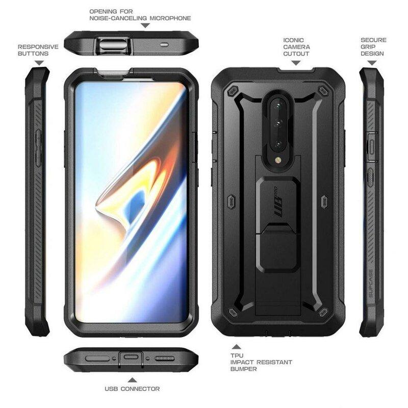 Husa OnePlus 7T Pro Supcase Unicorn Beetle Pro V2 - Negru