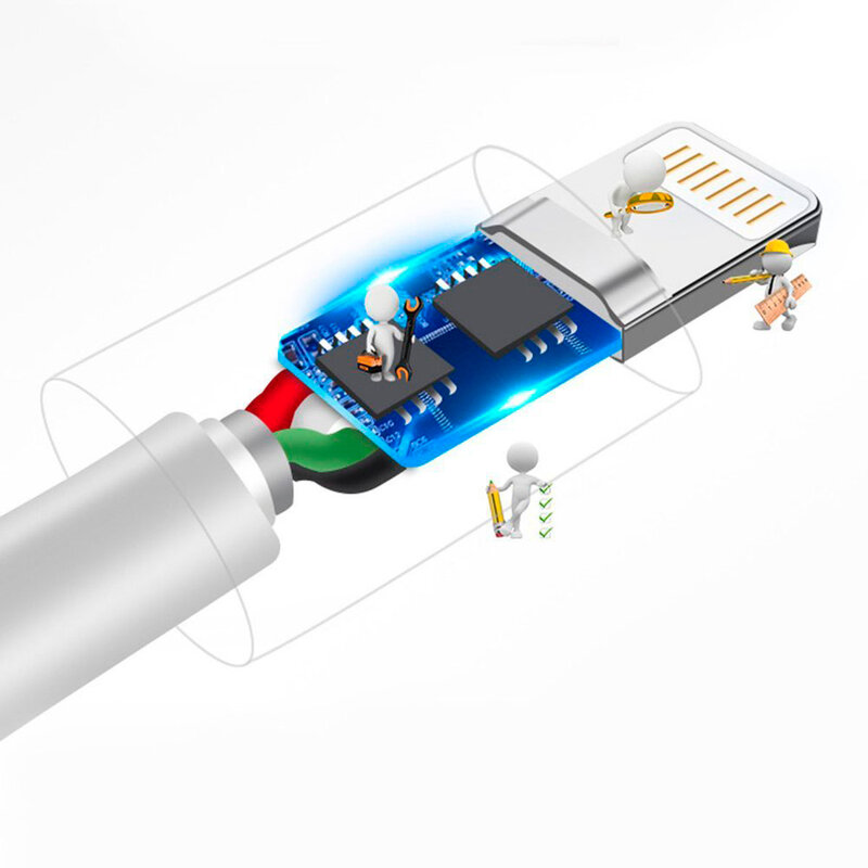 Cablu de date Dudao L1 USB to Lightning Fast Charging 3A TPE 1M - Alb