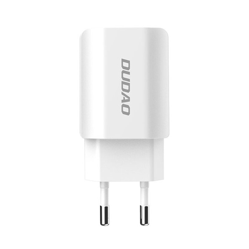 Incarcator Priza Dudao A2EU Home Travel Dual-USB 2.4A - Alb