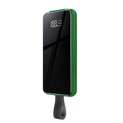 Baterie Externa Remax Power Bank 10000mAh 18W With Wireless Charger Qi 10W - RPP-105 - Verde