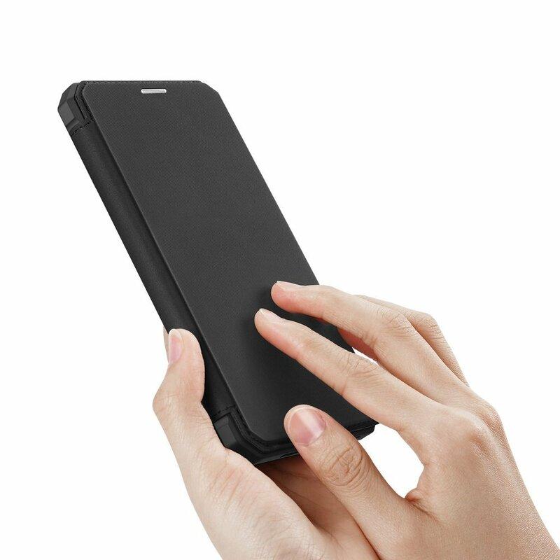 Husa iPhone 11 Pro Max Dux Ducis Skin X Series Flip Stand Book - Negru