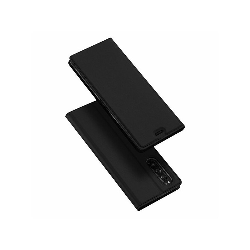 Husa Sony Xperia 5 Dux Ducis Flip Stand Book - Negru