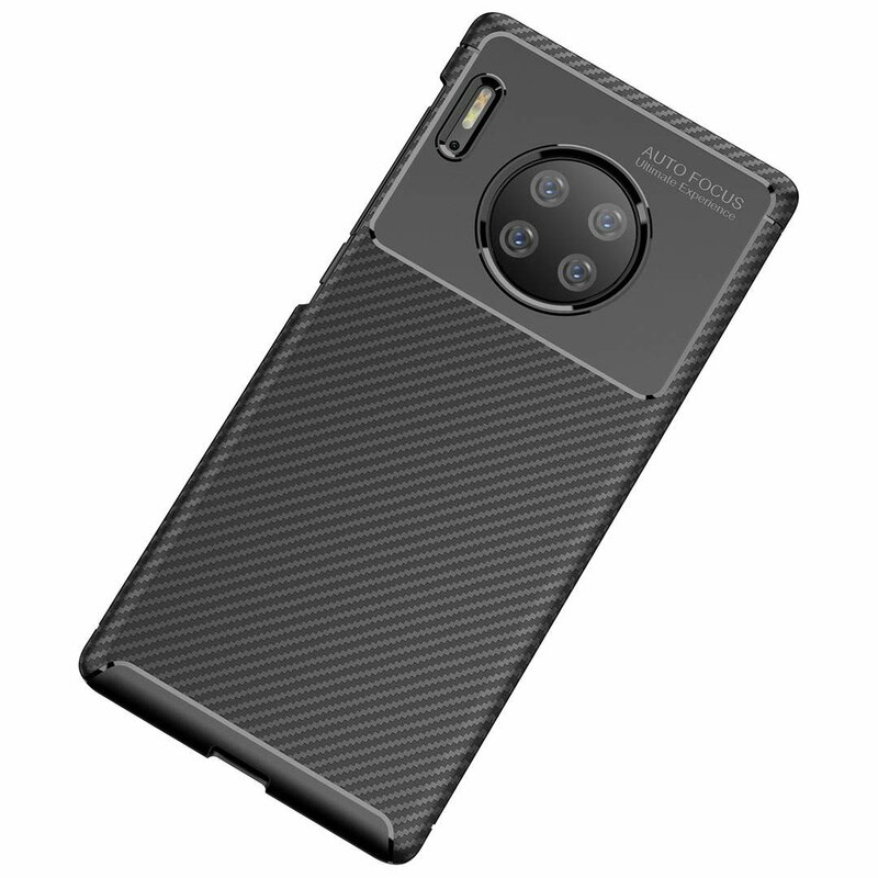 Husa Huawei Mate 30 Mobster Carbon Skin Negru