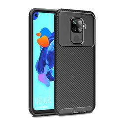 Husa Huawei Mate 30 Lite Mobster Carbon Skin Negru
